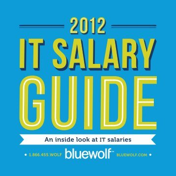 An inside look at IT salaries - Bluewolf