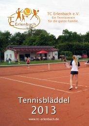 Medenrunde - Tennisclubs Erlenbach e.V.