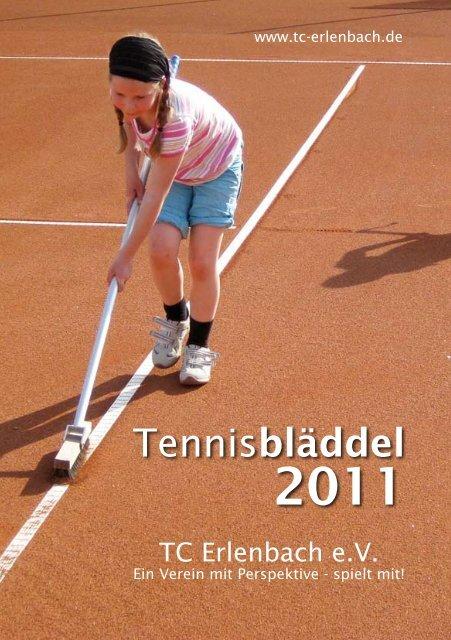 Unser Tennisbläddel 2011 steht zum download bereit - Tennisclubs ...
