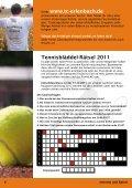 Unser Tennisbläddel 2011 steht zum download bereit - Tennisclubs ... - Seite 6