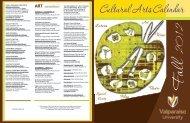 cultural arts events - Valparaiso University