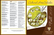 cultural arts events - Valparaiso University