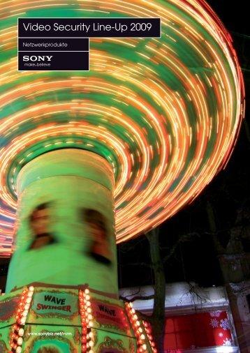 Produktübersicht: Sony Netzwerktechnik