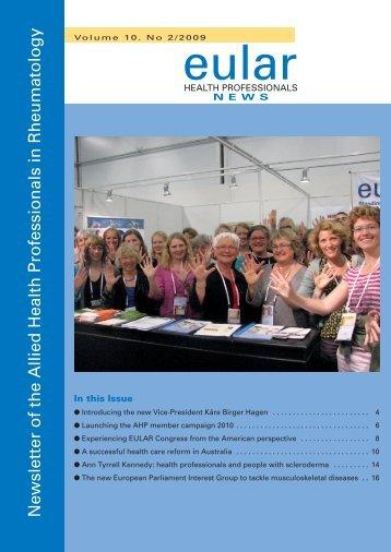 Newsletter 2/2009 - EULAR