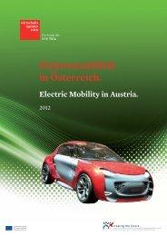 Elektromobilität in Österreich 2012 PDF, 19 MB - IT-Cluster Wien