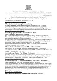 """Buchpräsentation: """"Geraubte Tradition"""" von Elsbeth ... - Club Osttirol"""