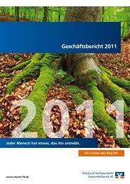 Geschäftsbericht 2011 - Volksbank Raiffeisenbank Fürstenfeldbruck ...