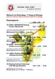 Weinkarte (PDF-Dokument) - Pfälzer Weinkontor Dresden
