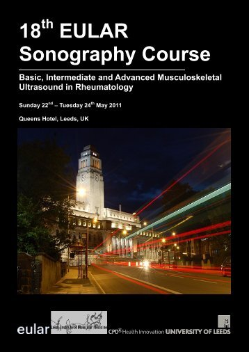 18th EULAR Ultrasound Course