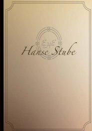 Hanse Stube Weinkarte - Excelsior Hotel Ernst