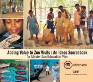 An Ideas Sourcebook - Central Zoo Authority
