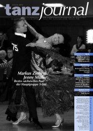 Markus Ziebegk/ Jenny Müller: - Deutscher Tanzsportverband eV