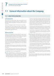7.1 General information about the Company - Euler Hermes