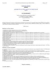 EULER HERMES CONVOCATIONS