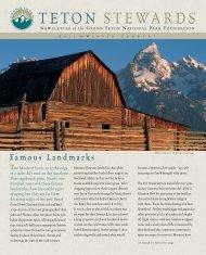 Winter nwsltr06_6 - Grand Teton National Park Foundation
