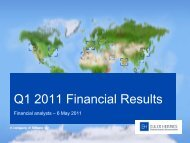 3 Q1 2011 Financial results - Euler Hermes