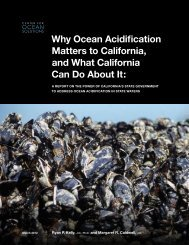Why Ocean Acidification Matters to California - Washington State ...