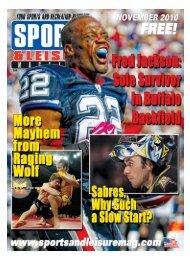 November-2010 Buffalo Edition - PDF - Sports and Leisure Magazine