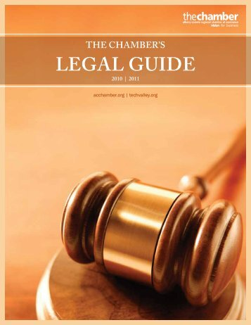 LEGAL GUIDE - Albany Colonie Regional Chamber of Commerce