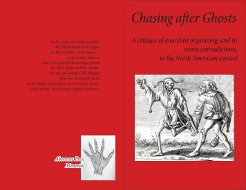 Chasing aer Ghosts - Zine Library