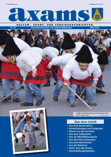 (3,42 MB) - .PDF - Gemeinde Axams - Land Tirol