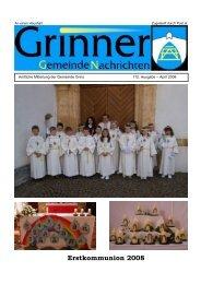 Grinner Gemeinde Nachrichten (0 bytes) - Grins