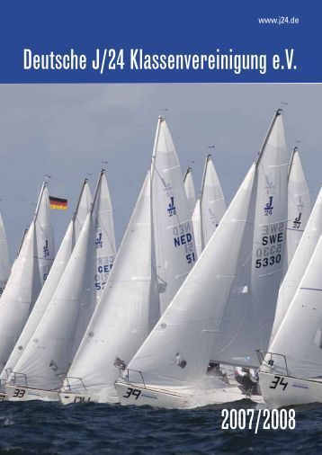 Deutsche J/24 Klassenvereinigung e.V. 2007/2008