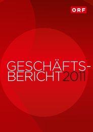 Der Geschäftsbericht als Download - ORF Kundendienst