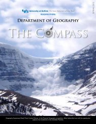Department of Geography - University at ...