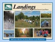 Landings- Spring 2009 - Door County Land Trust