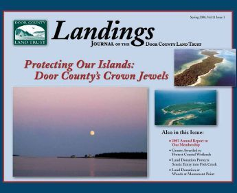Landings- Spring 2008 - Door County Land Trust