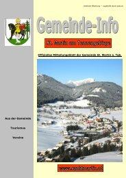 10,61 MB - Gemeinde St. Martin am Tennengebirge