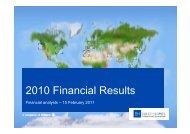 2010 Financial Results - Euler Hermes
