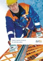 Safety Ladder products for ultimate safety - Eltel Networks
