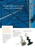 Turvatikas-tuotteet – työturvallisuutta huipulta - Eltel Networks - Page 2
