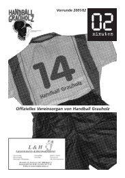 Offizielles Vereinsorgan von Handball Grauholz