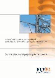 Katalog izolatorów 15 - 30 kV - Eltel Networks