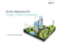 Grad af mobilitet i arbejdssituationen - Eltel Networks