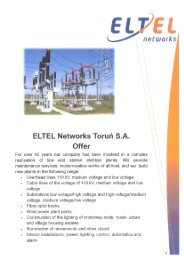 Oferta Eltel Networks Toruń SA - wersja angielska
