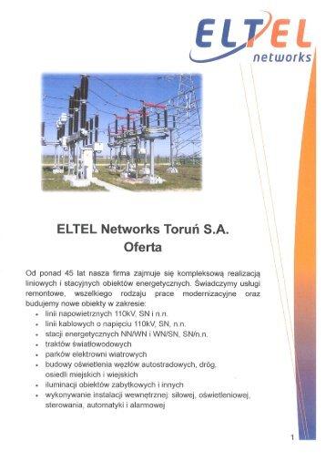Oferta Eltel Networks Toruń SA