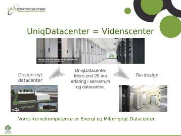 Uniq Datacenter - Eltel Networks