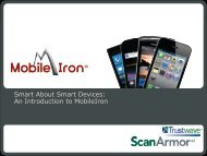 An Introduction to MobileIron - Eltel Networks