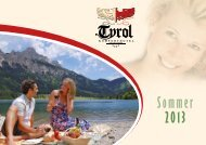 Sommer 2013 - Hotel Tyrol Haldensee