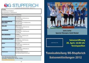 Saisonmitteilungen 2012.pdf - SG-Stupferich Tennis