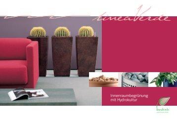 LineaVerde - Innenraumbegrünung mit Hydrokultur