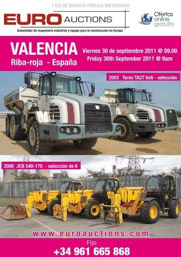 Riba-roja - España VALENCIA - Euro Auctions