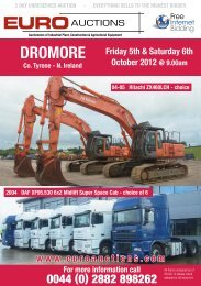 Auctioneers of Industrial Plant, Construction - Euro Auctions