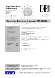 European Technical Approval ETA-08/0290 - Eurodima