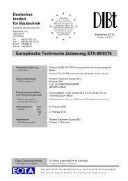 Europäische Technische Zulassung ETA-08/0376 - Eurodima