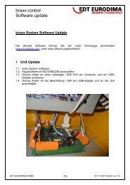 braxx System Software Update - Eurodima